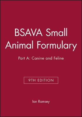 BSAVA Small Animal Formulary, Part A
