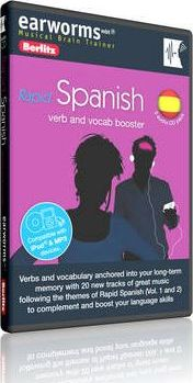 Berlitz earworms Rapid Spanish (Verb and Vocab Booster)