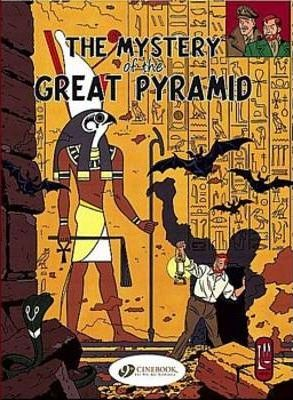 Blake & Mortimer Vol.2: the Mystery of the Great Pyramid Pt 1 Cover Image