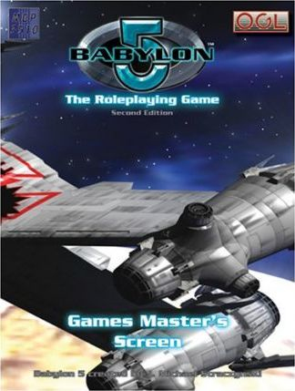 Babylon 5 the Role Playing Game Games Master's Screen
