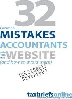 32 Common Mistakes Accountants Make with Their Website (and How to Avoid Them)