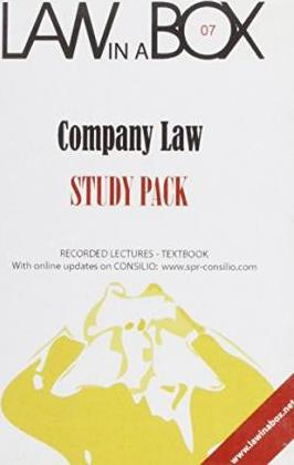 Company Law in a Box: Study Pack