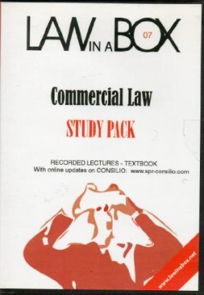 Commercial Law in a Box: Study Pack