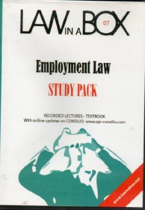 Employment Law in a Box: Study Pack