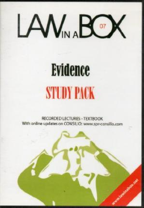 Evidence Law in a Box: Study Pack