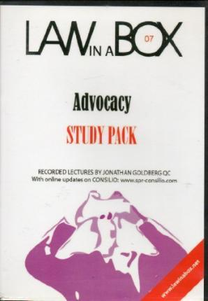 Advocacy Law in a Box: Study Pack