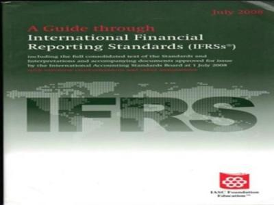 A Guide Through International Financial Reporting Standards IFRS 2008