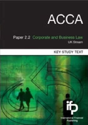 ACCA Paper 2.2 Corporate and Business Law (English)