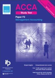 ACCA F2 Management Accounting Study Text