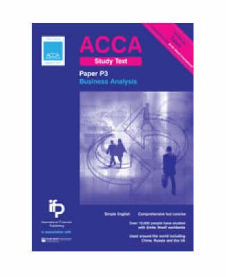 ACCA P3 Business Analysis Study Text: Paper P3