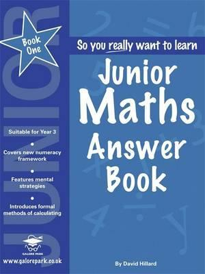Junior Maths: Answers Book 1