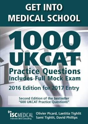 Get into Medical School - 1000 UKCAT Practice Questions. Include Full Mock Exam Cover Image