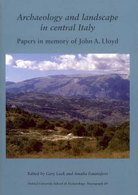 Archaeology and Landscape in Central Italy Cover Image