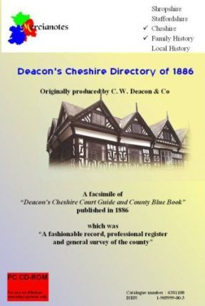 Deacon's Cheshire Directory of 1886