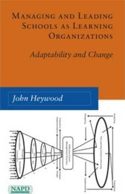 Managing and Leading Schools as Learning Organizations  Adaptability and Change