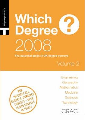 A A Students' Guide to UK Degree Courses 2008: Vol. 1