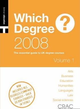 A Students' Guide to UK Degree Courses: Vol. 2