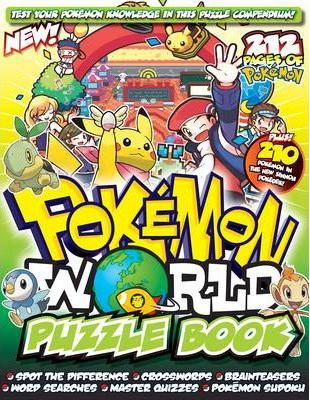 """Pokemon"" World Puzzle Book"
