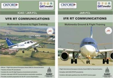 VFR RT Communications and IFR RT Communications