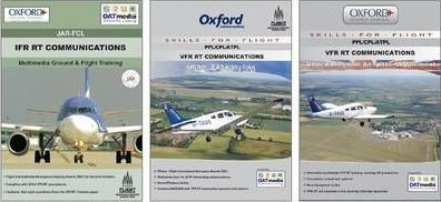 VFR RT Comms, VFR RT Comms UK Airspace Supplement and IFR RT Communications