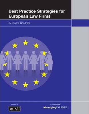 Best Practice Strategies for European Law Firms