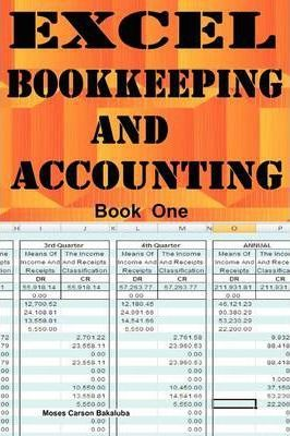 excel bookkeeping and accounting moses carson bakaluba 9781906380151