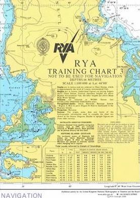 RYA Training Chart: No. 3