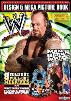 WWE Action Mega Picture Book 2008