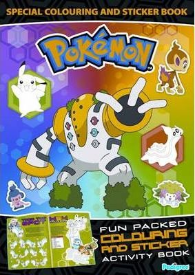 """Pokemon"" Special Colouring and Sticker Book 2009"