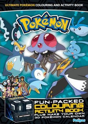 """Pokemon"" Colouring and Activity Book 2009 2009"