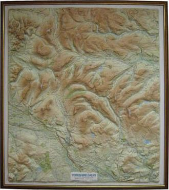 Yorkshire Dales Relief Map