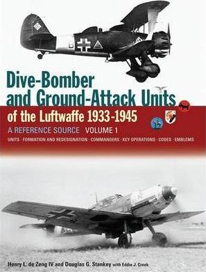 Dive Bomber and Ground Attack Units of the Luftwaffe 1933-45: v. 1 Cover Image