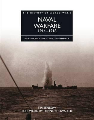 The History of World War I: Naval Warfare 1914 - 1918 Cover Image