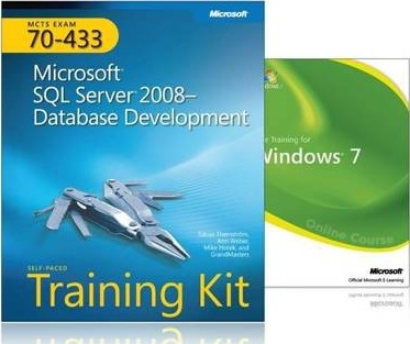 MCTS Self-paced Training Kit and Online Course Bundle (exam 70-433): Microsoft SQL Server 2008 - Database Development Book/DVD Package
