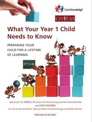 What Your Year 1 Child Needs to Know  Preparing Your Child for a Lifetime of Learning
