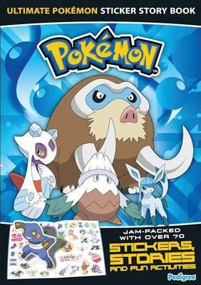 """Pokemon"" Sticker Story Book 2009 2009"