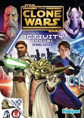Clone Wars Spring Activity Annual 2010