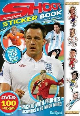 """""""Shoot World Cup"""" Sticker Profile Book Spring 2010"""