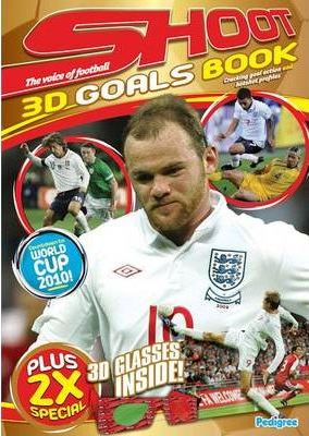"""""""Shoot World Cup"""" 3D Goal Special Book Spring 2010"""