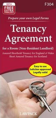 Tenancy Agreement for a Room (Non-resident Landlord)