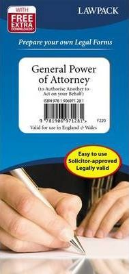 General Power of Attorney Form Pack