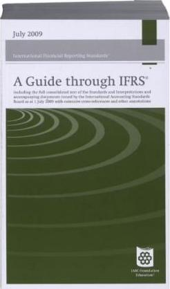 A Guide Through International Financial Reporting Standards IFRS 2009