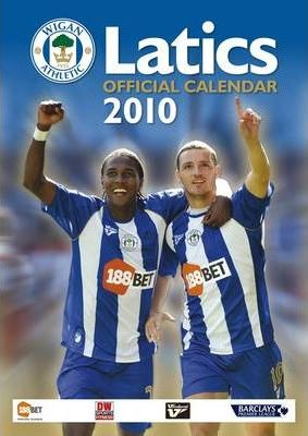 Official Wigan Athletic FC 2010 Calendar