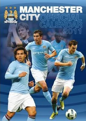 Official Manchester City FC 2011 Calendar