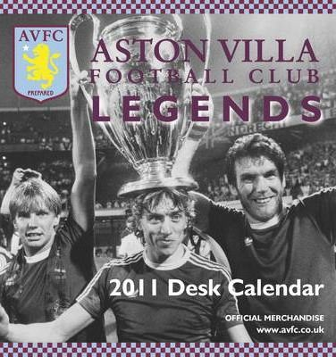 Official Aston Villa FC 2011 Desk Easel Calendar