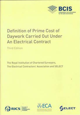 Definition of Prime Cost of Daywork Carried Out Under an Electrical Contract