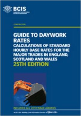 Guide to Daywork Rates 2011