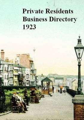 Private Residents Business Directory Ramsgate, 1923
