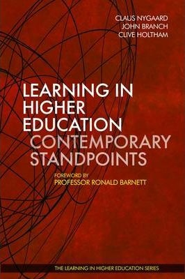 Learning in Higher Education: Contemporary Standpoints