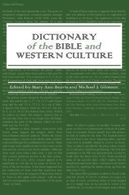 Dictionary of the Bible and Western Culture Cover Image
